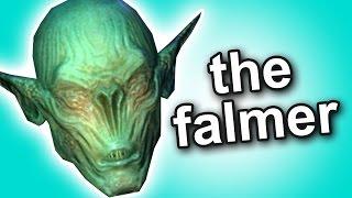 Skyrim - Who are the Falmer?