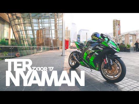 TESTRIDE KAWASAKI ZX10R 2017 #motovlog Indonesia