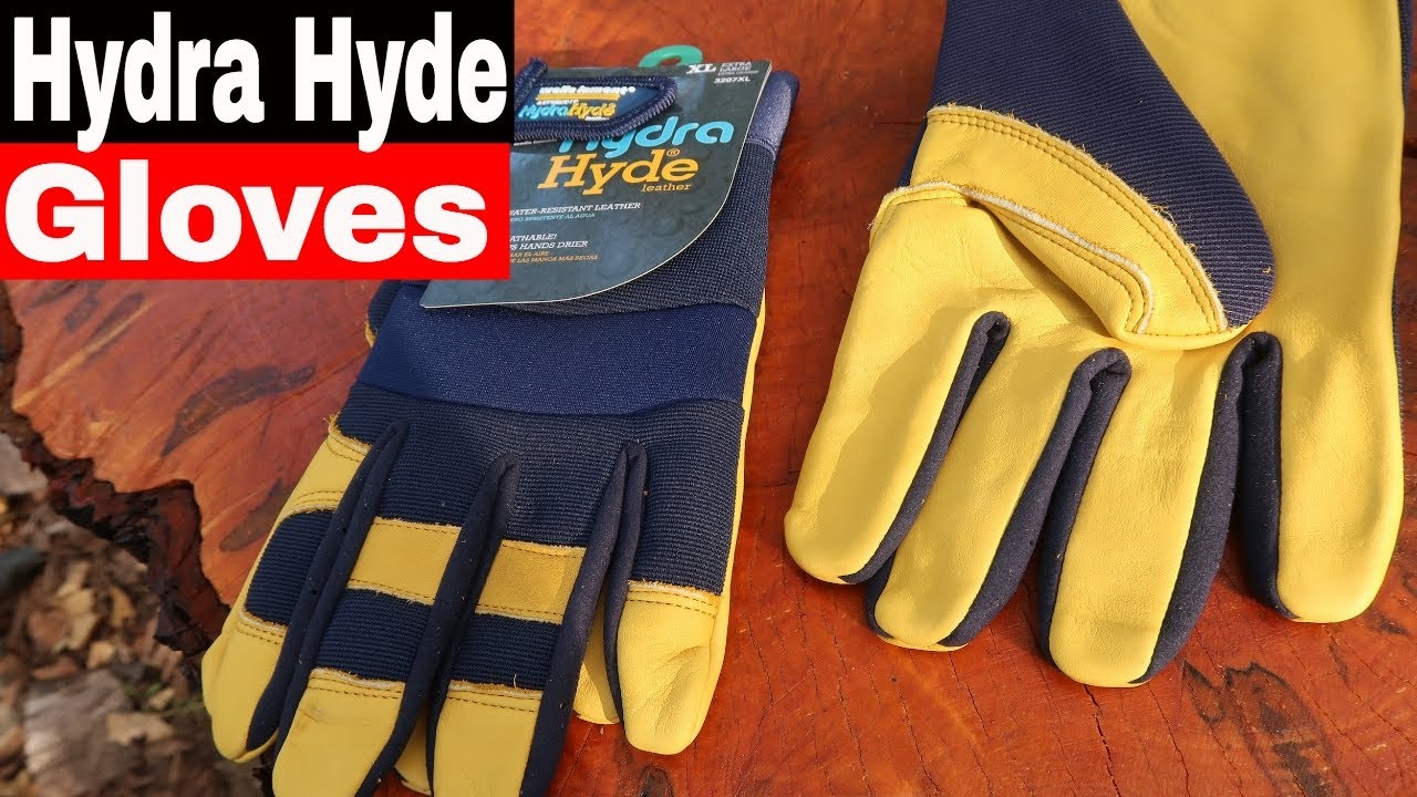hydra hyde leather work gloves