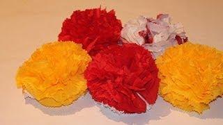 Как сделать цветок из салфетки(Как сделать цветок из салфетки своими руками - мастер класс., 2014-01-27T12:07:33.000Z)