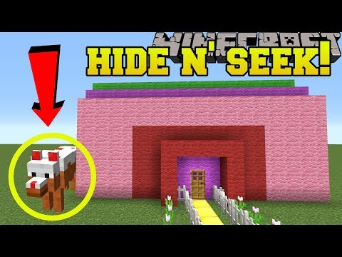 Minecraft: WOLVES HIDE AND SEEK!! - Morph Hide And Seek - Modded Mini-Game