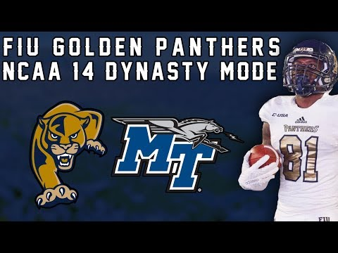 NCAA Football 14 Dynasty: FIU | Alex Gardner's Return