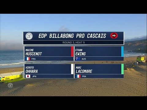 EDP Billabong Pro Cascais Round Three, Heat 9