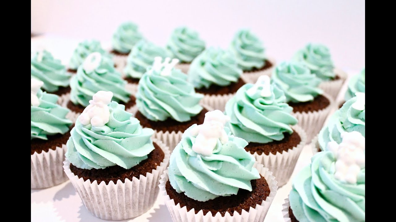 Vaak HOW TO MAKE CHRISTENING/ BABY SHOWER CUPCAKES - YouTube @XM12