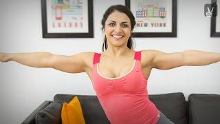 Fitness für Anfänger: Bauch, Beine und Po Training mit Nora Lobjandize