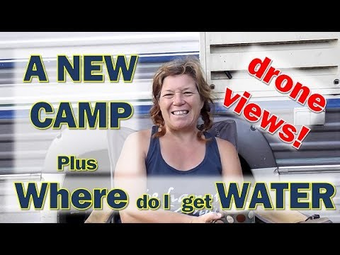 Boondocking Kentucky!  + How I get Water!