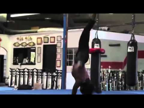 Lauren Mary Kim Martial ArtBasic Trick Training Reel