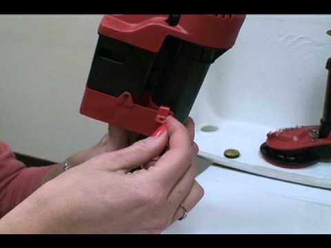 how to install korky toilet fill valve and flapper