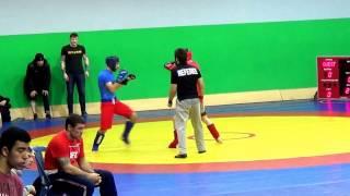 Панкратион  - Bulat Gold Gym - Муртазалиев Гаджимурат (синий)