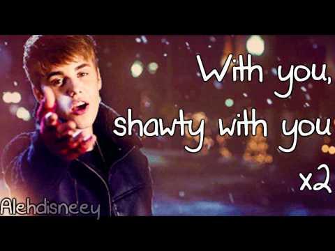 Justin Bieber  Mistletoe Lyrics On Screen HD