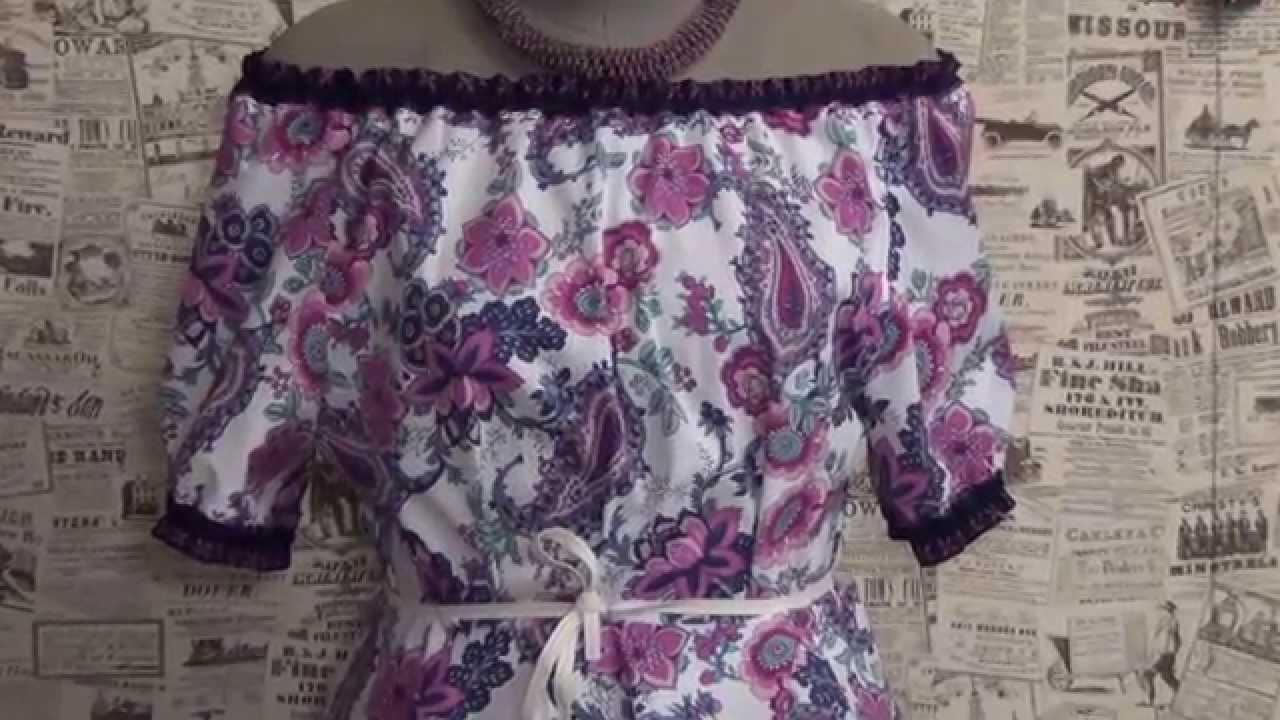 Как сшить платье из юбки и блузки