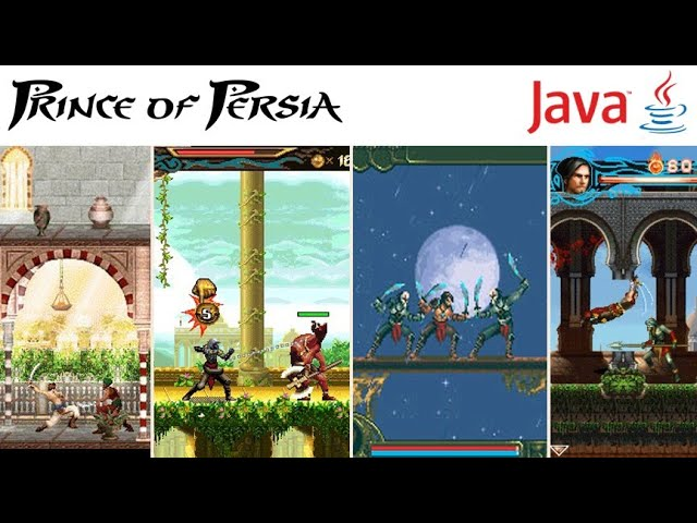 All Prince Of Persia Games On Java Mobile Youtube