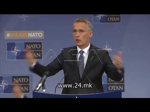 Столтенберг: Русија не одлучува за членството на Македонија во НАТО