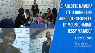 Charlotte Namura (TF1) donne une anecdote sexuelle/ Mouni charme Jessy Matador