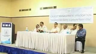 calicut management association speech by dr azad mooppen on 23rd september 2011 part 05