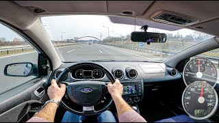 2005 Ford Fiesta ST | 2.0 I 150hp | POV Test Drive