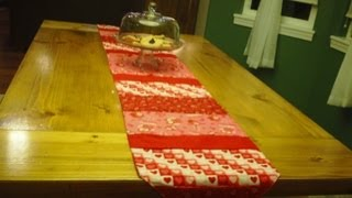 How To Make A Simple Table Runner
