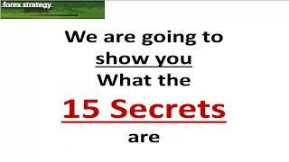 Forex Strategies & Secrets: 15 Secrets 8 Strategies