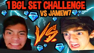 1 BGL SET CHALLENGE VS JAMEW7 - Growtopia