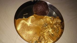 ಕುರಿ ಮಟನ್ ಸಾರು   mutton samber in Kannada thumbnail