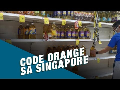 Stand for Truth: Code Orange sa Singapore, itinaas na!