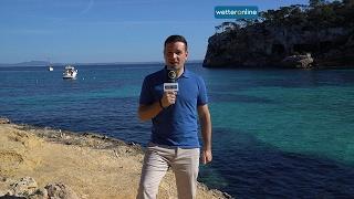 wetteronline.de: Frühlingswetter auf Mallorca (01.02.2017)