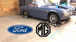 MG Midget EV Conversion Part10 Updates!