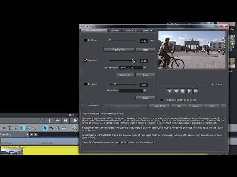 MAGIX Movie Edit Pro 2016 – Audio Dubbing tutorial (INT)