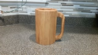 Building a Wooden Mug - Merry Christmas Jake!