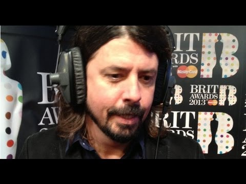 BRITs 2013: Dave Grohl interview