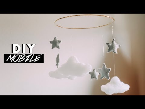 DIY | Crib Mobile For Nursery