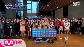 [ENG sub] [Mini Fanmeeting with TWICE] KPOP TV Show | M COUNTDOWN 190425 EP.616
