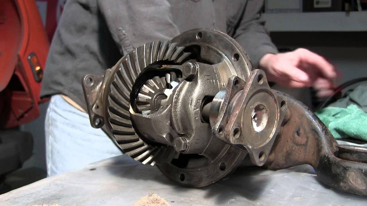What Is A Drive Shaft >> Part 2 1979 Triumph Spitfire 1500 Differential Removal ...