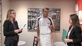 Les jeunes de la mission locale à la rencontre d'un Artisans.