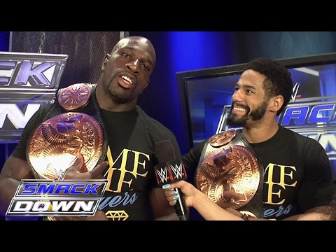 The Prime Time Players comment on the action of The New Day: SmackDown Fallout, August 20, 2015