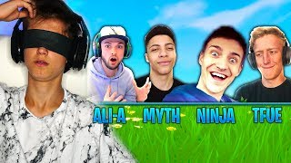 GUESS THE FORTNITE YOUTUBER CHALLENGE (Ninja, Ali-A, TSM Myth, Tfue & MORE)