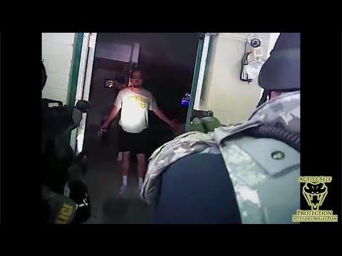 Police Raid Leads to Gun Fight
