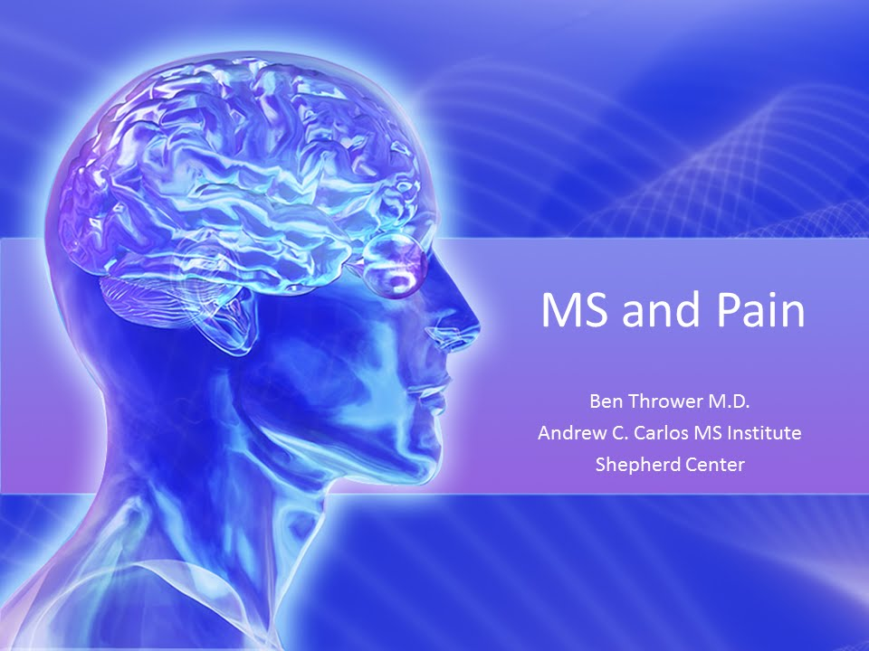Ms And Pain Ben Thrower Md January 2016 Youtube