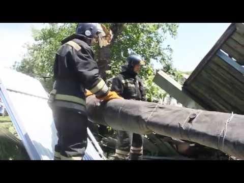 видео: Устранение последствий урагана в Алтайском крае
