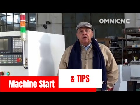 Syntec CNC Router Machine Operation Start & Tips