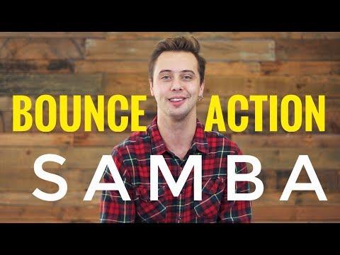 SAMBA BOUNCE ACTION EXERCISE