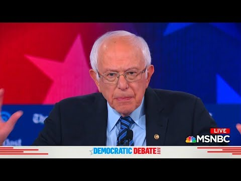 Bernie Sanders' Plea to Respect Palestinian Dignity at Debate Was a Game Changer