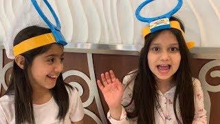 نور وليلى في تحدي الضربه الكرويه 🔥🏀
