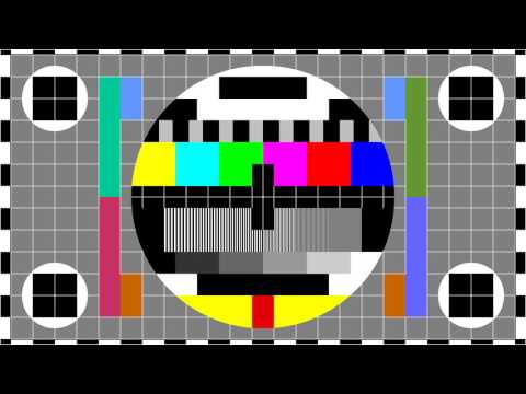 FULL HD PM5644 test pattern - 1920 x 1080 60p - 1 Hour with 1Khz sound.