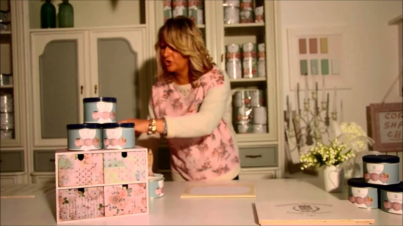 Tutorial Pittura Shabby Chic : Tutorial trasferimento youtube