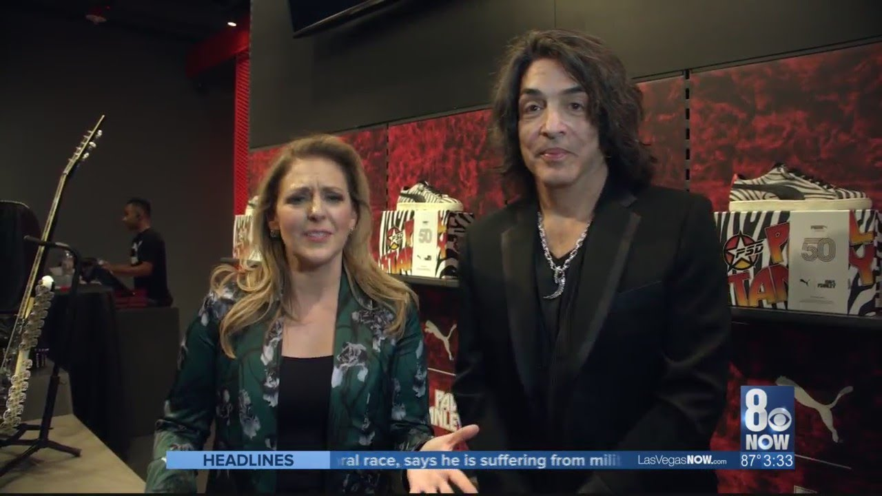 buy popular f8e68 bf7a8 KISS front man Paul Stanley releases a new shoe