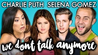 CHARLIE PUTH & SELENA GOMEZ - We Don't Talk Anymore (REACT: Lyric Breakdown)