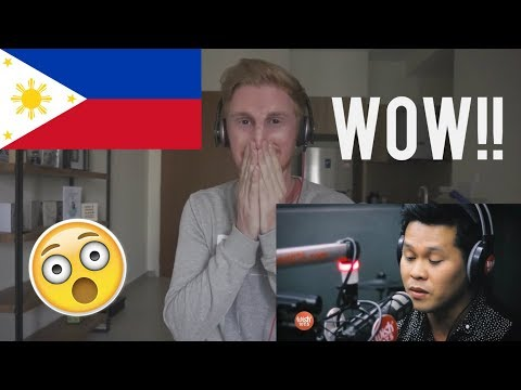 "Marcelito Pomoy Sings ""The Prayer"" (Celine Dion/Andrea Bocelli) LIVE On Wish 107.5 Bus // REACTION"