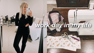work day in my life (rad tech 8-5) + etsy shop