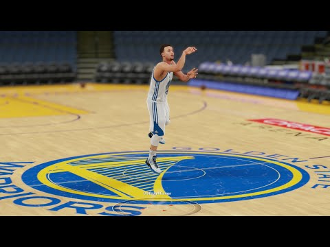 Thumbnail: Who Can Make a Half Court Shot First in the Curry Family? Seth, Steph, or Dell? Funny NBA2k Gameplay